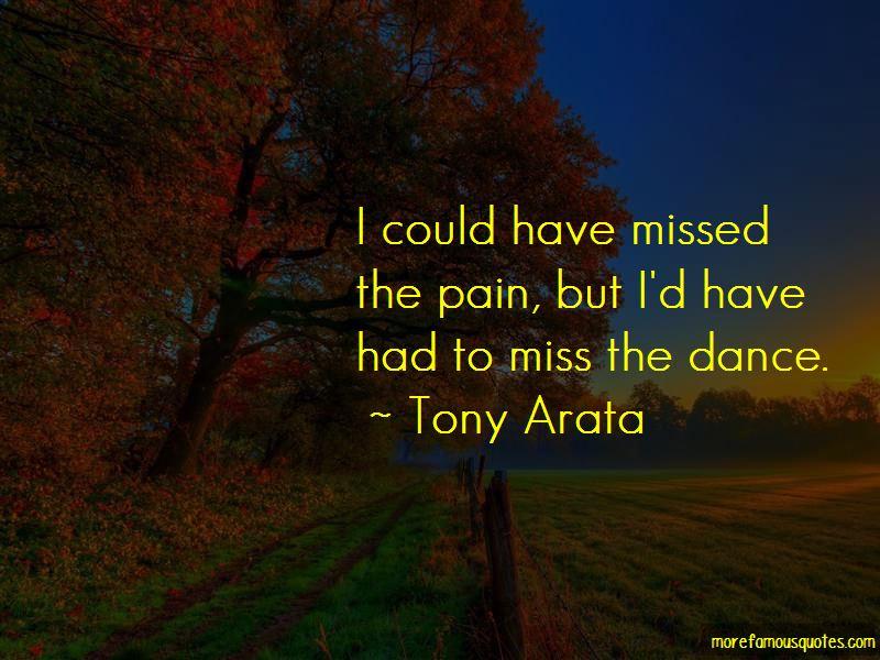 Tony Arata Quotes Pictures 3