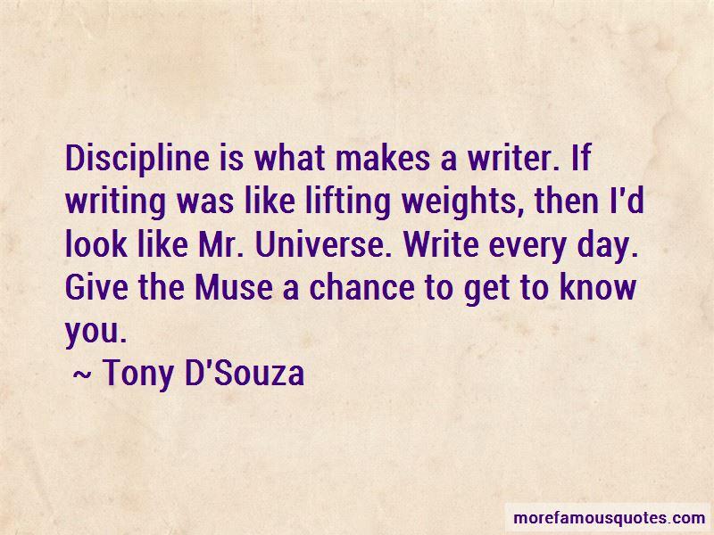 Tony D'Souza Quotes Pictures 4