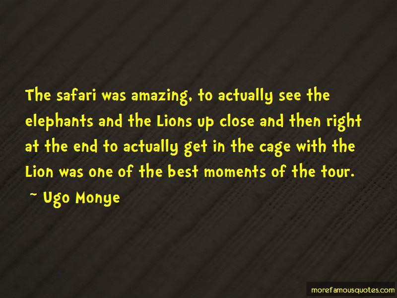 Ugo Monye Quotes