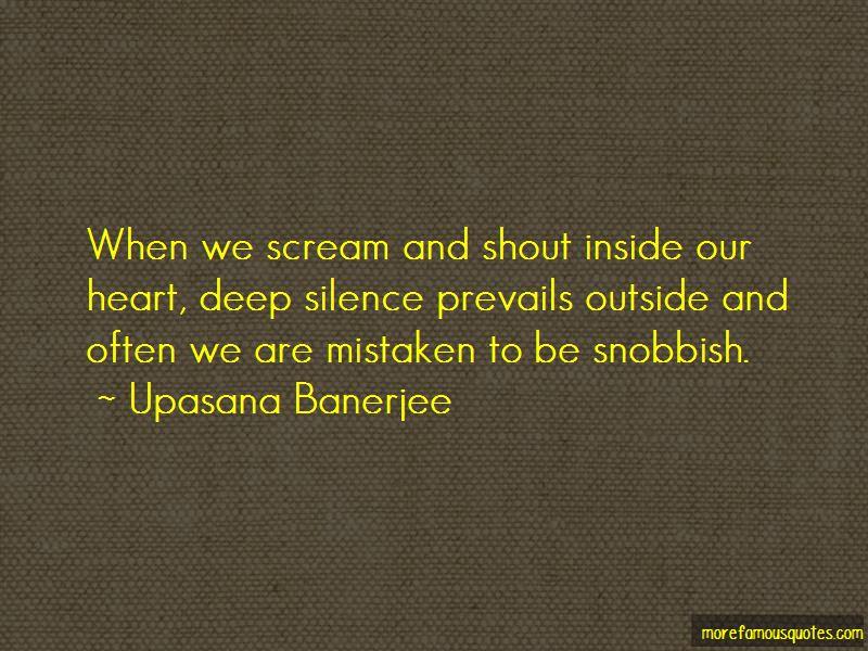 Upasana Banerjee Quotes