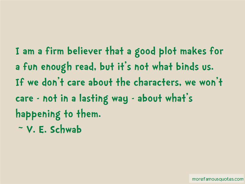 V. E. Schwab Quotes
