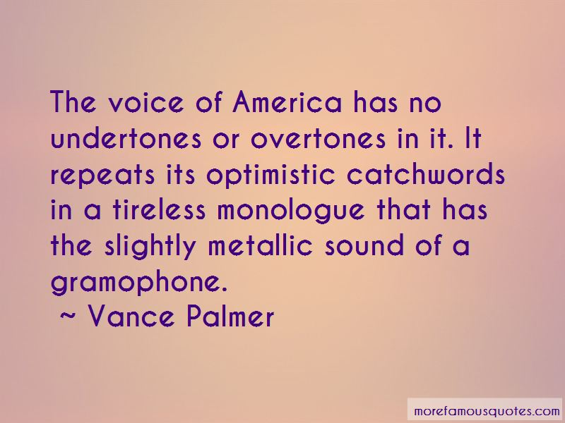 Vance Palmer Quotes Pictures 4
