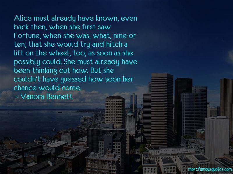 Vanora Bennett Quotes Pictures 2