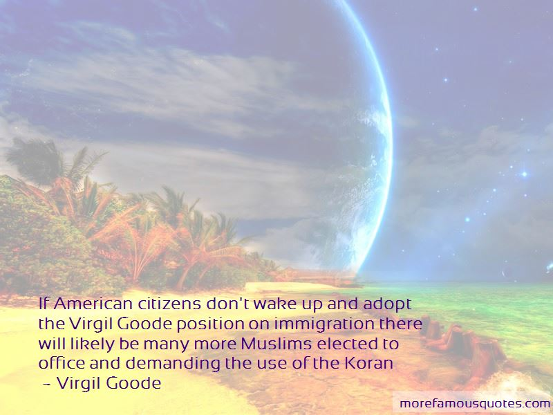 Virgil Goode Quotes Pictures 3