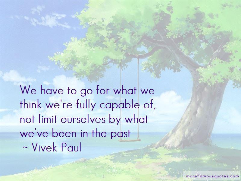 Vivek Paul Quotes