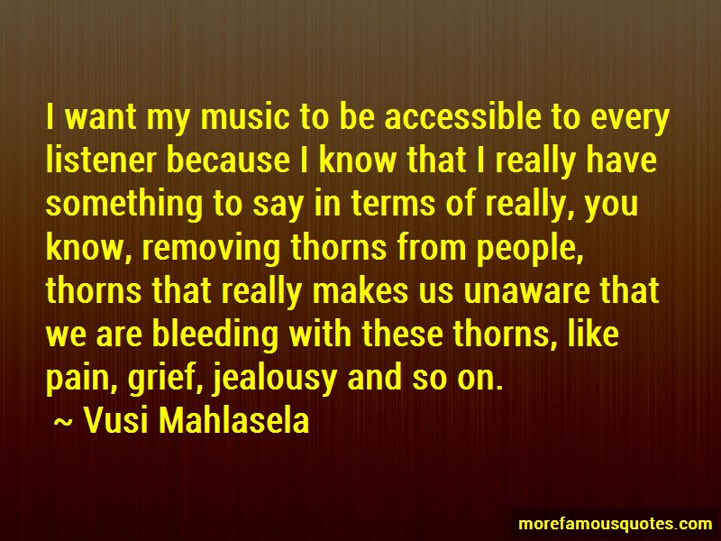 Vusi Mahlasela Quotes Pictures 2