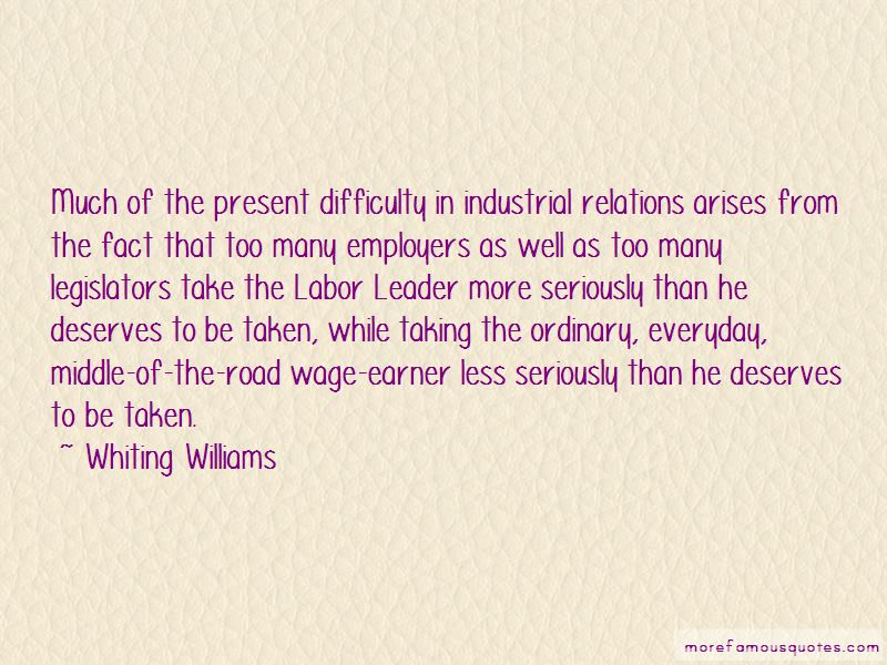 Whiting Williams Quotes