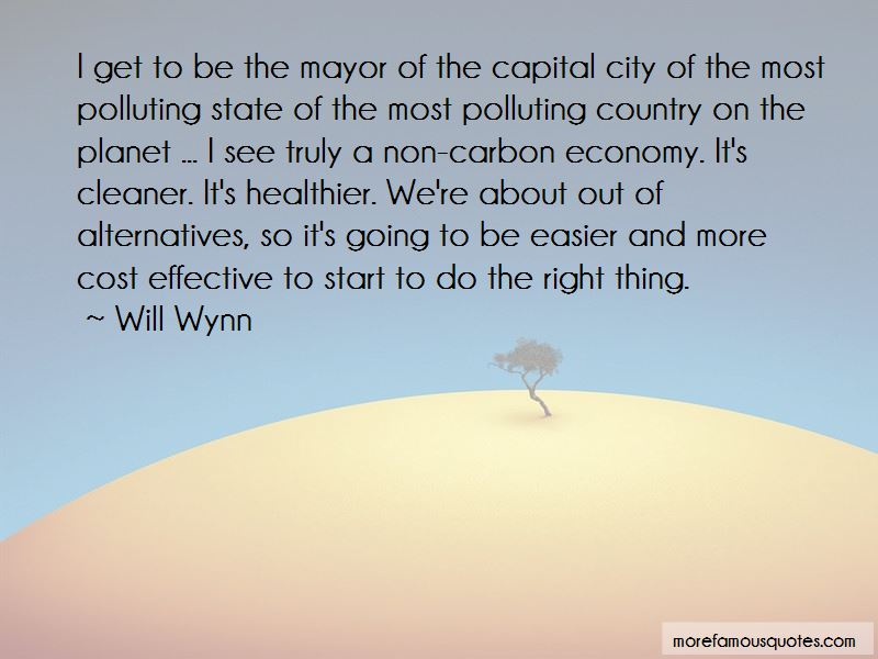 Will Wynn Quotes