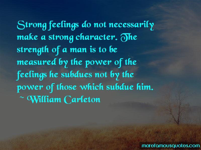 William Carleton Quotes Pictures 2