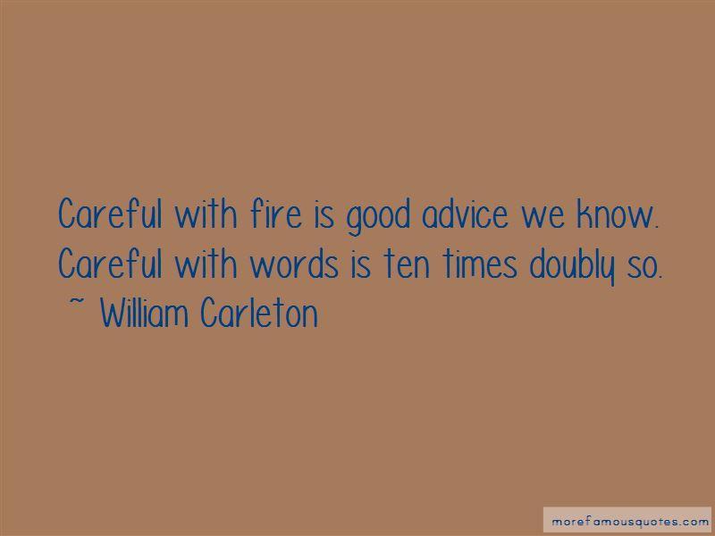 William Carleton Quotes