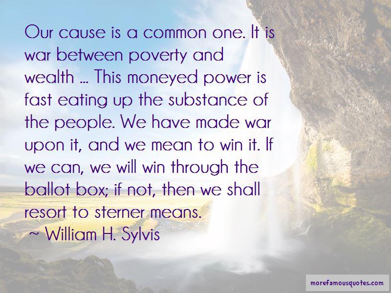 William H. Sylvis Quotes