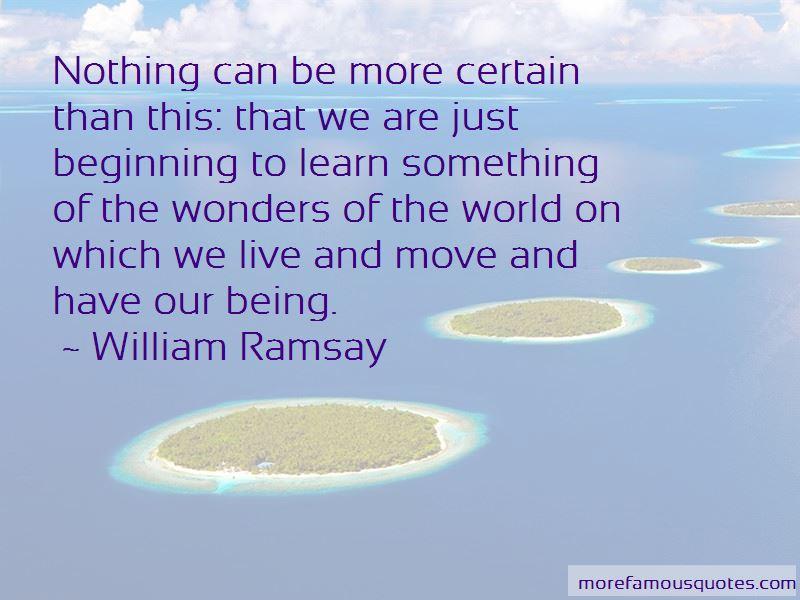 William Ramsay Quotes Pictures 4