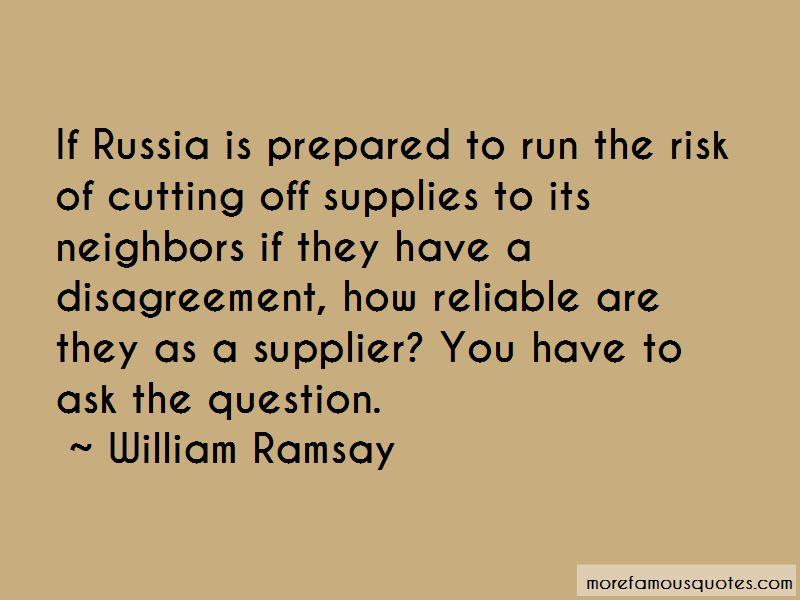 William Ramsay Quotes