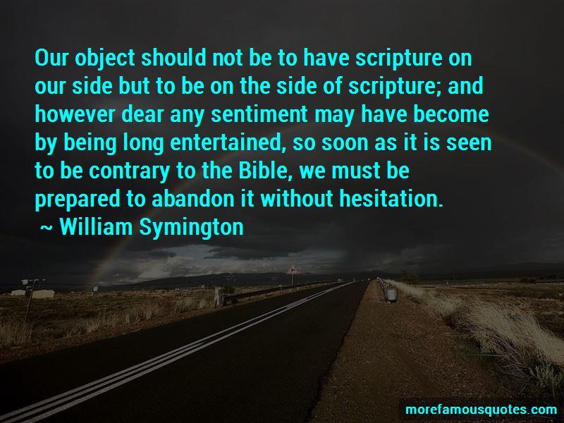 William Symington Quotes