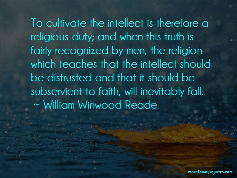 William Winwood Reade Quotes Pictures 3
