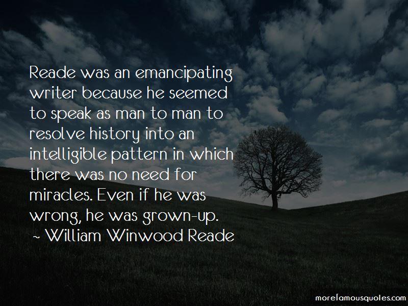 William Winwood Reade Quotes Pictures 4