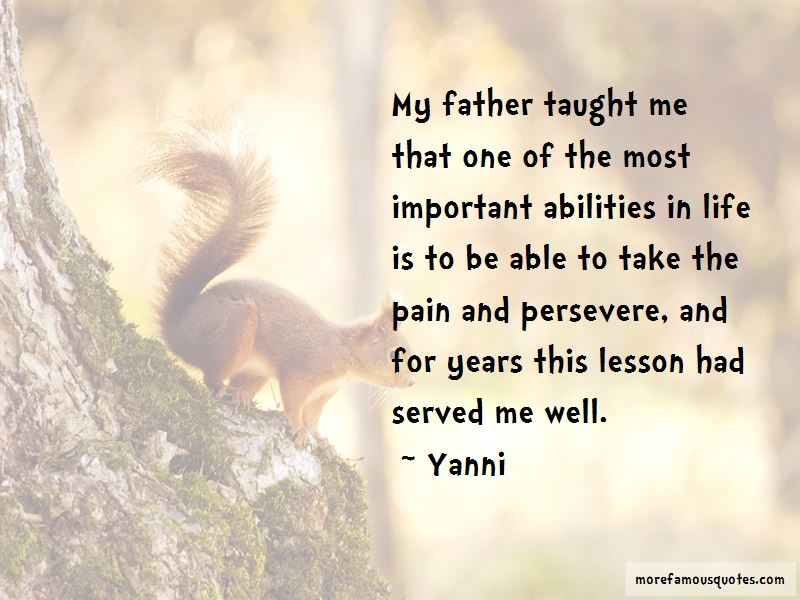 Yanni Quotes