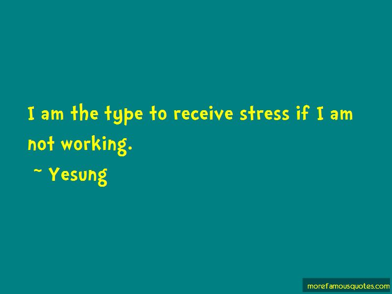 Yesung Quotes Pictures 2