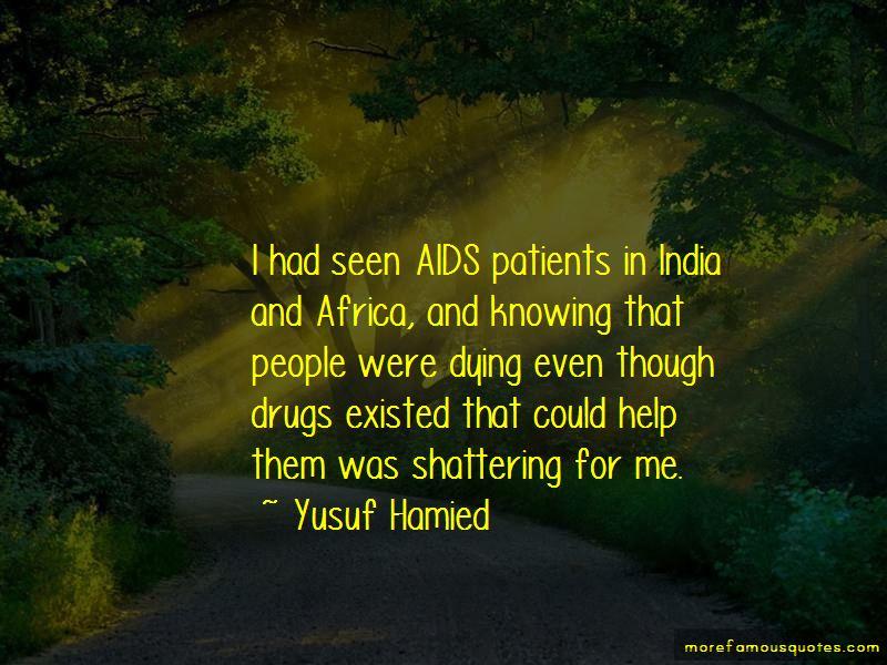 Yusuf Hamied Quotes