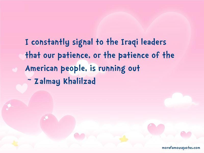 Zalmay Khalilzad Quotes Pictures 2