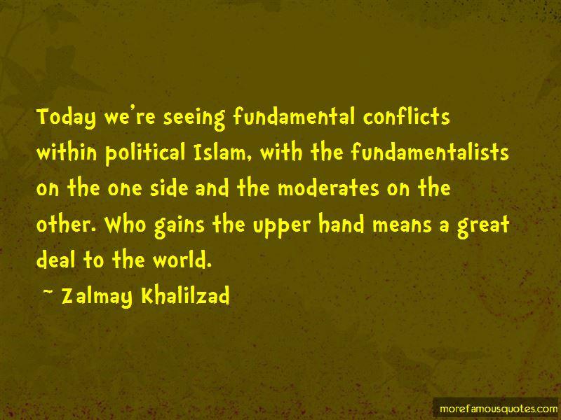 Zalmay Khalilzad Quotes Pictures 4