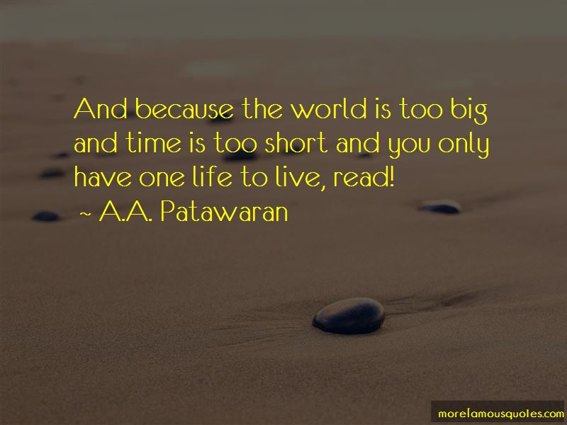 A.A. Patawaran Quotes Pictures 2