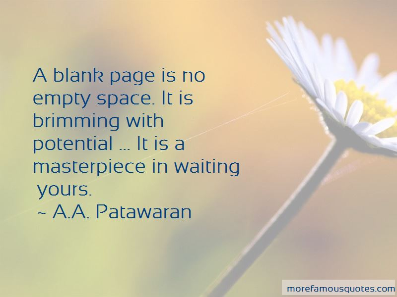 A.A. Patawaran Quotes Pictures 3