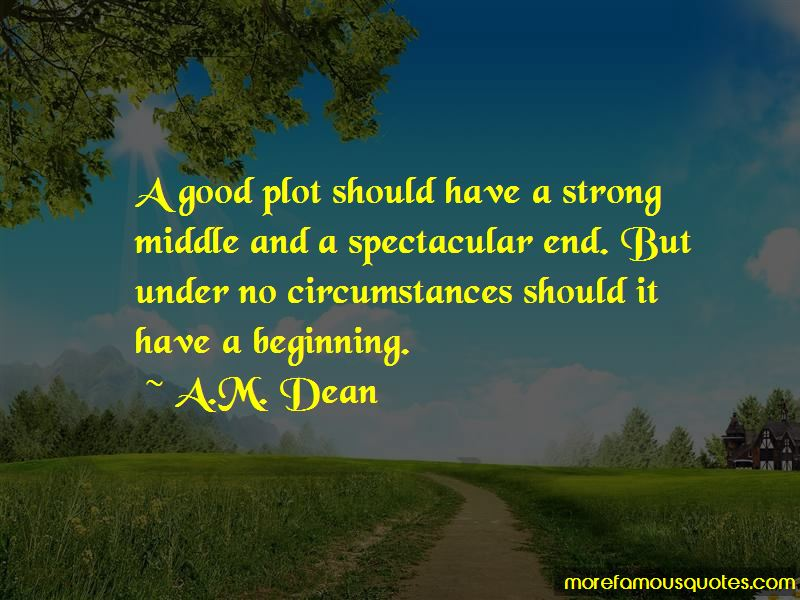 A.M. Dean Quotes Pictures 2