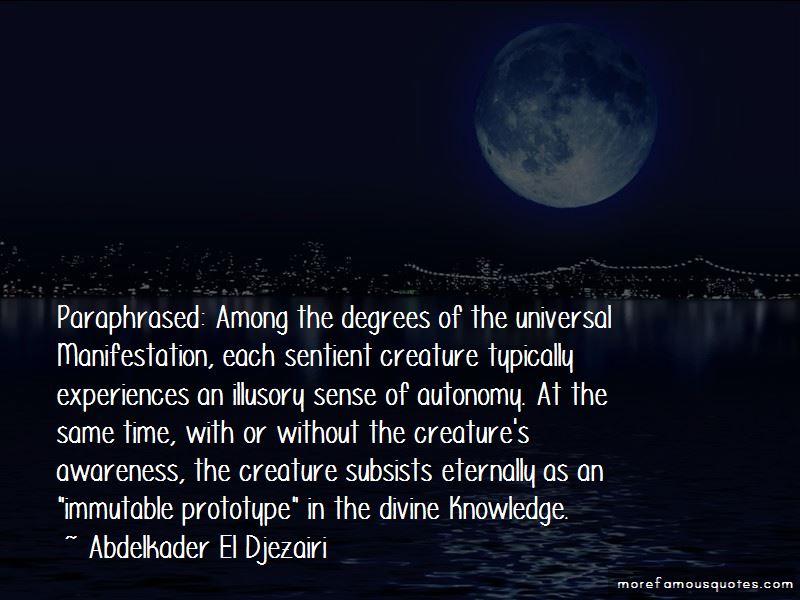 Abdelkader El Djezairi Quotes Pictures 4