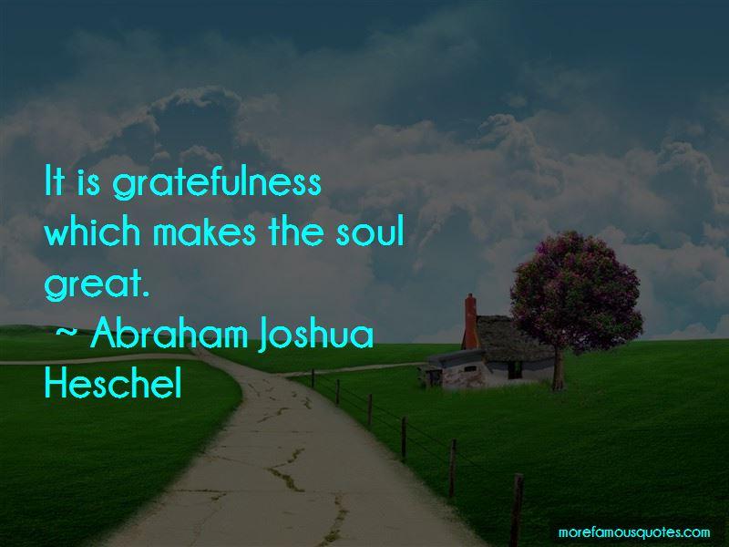 Abraham Joshua Heschel Quotes Pictures 2