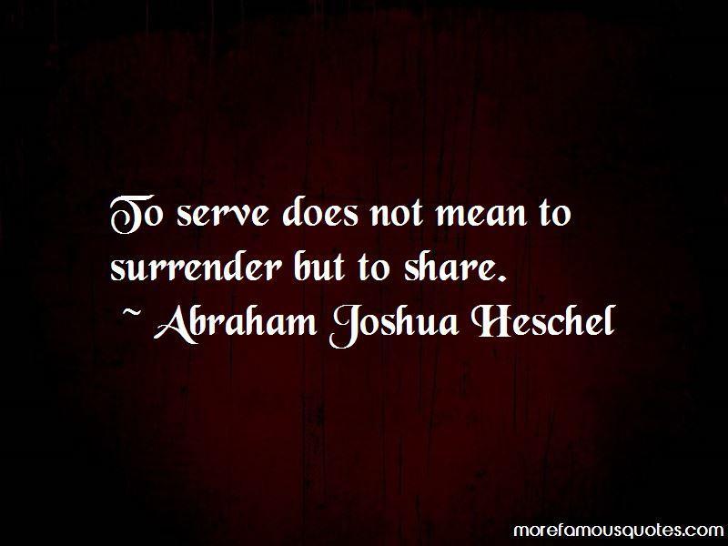 Abraham Joshua Heschel Quotes Pictures 3