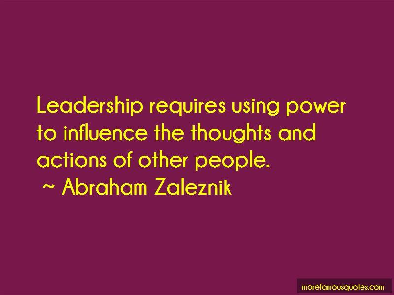 Abraham Zaleznik Quotes