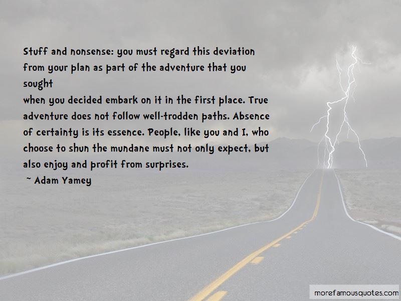Adam Yamey Quotes