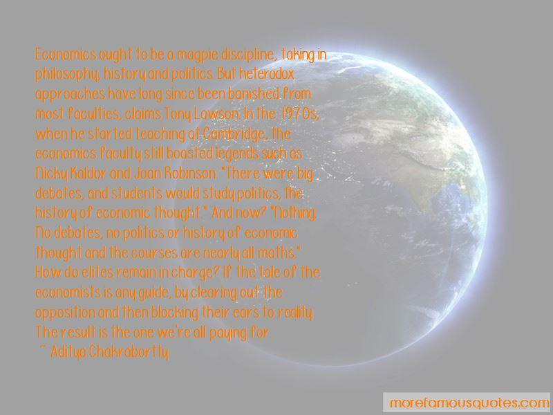 Aditya Chakrabortty Quotes