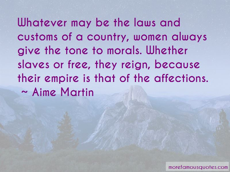Aime Martin Quotes Pictures 4