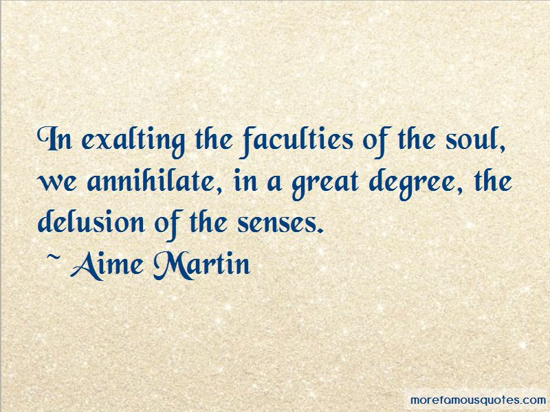 Aime Martin Quotes