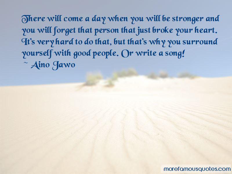 Aino Jawo Quotes