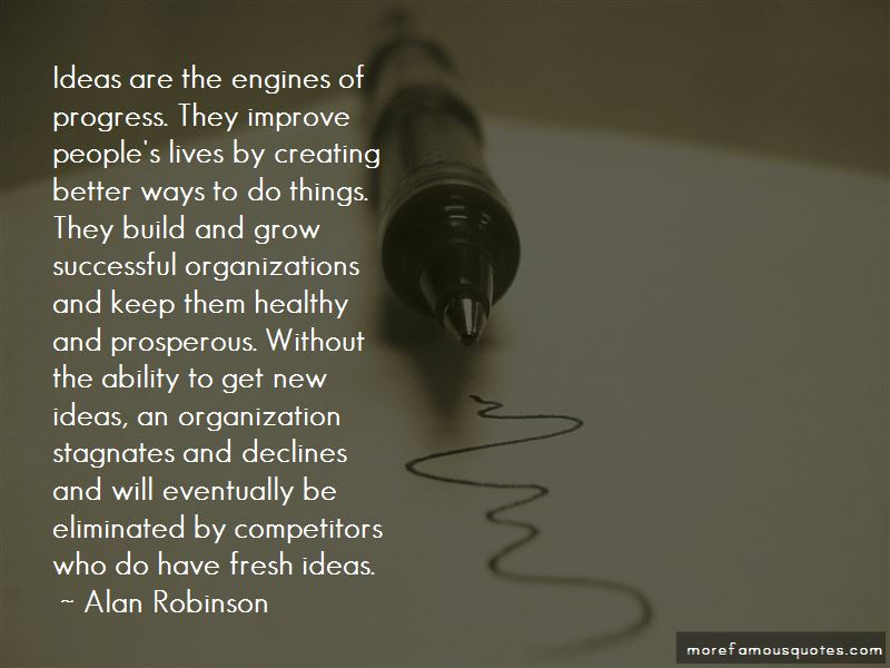 Alan Robinson Quotes
