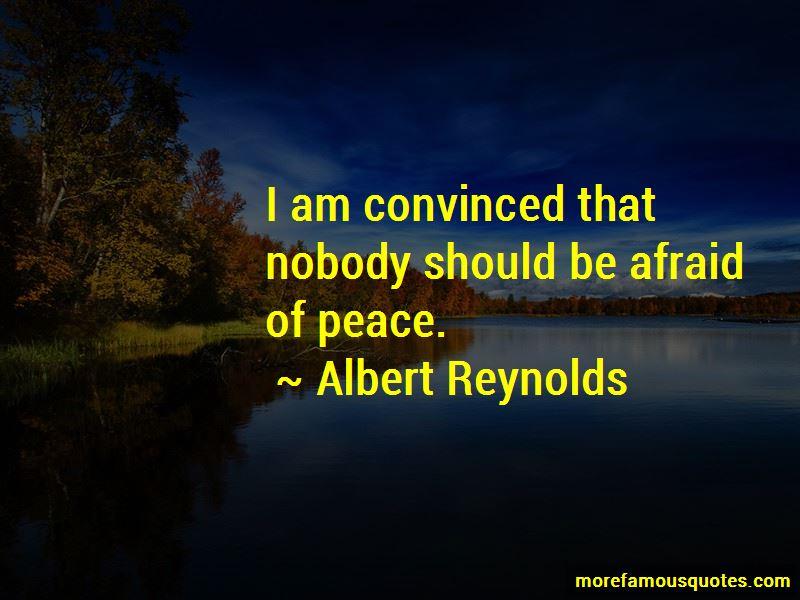 Albert Reynolds Quotes