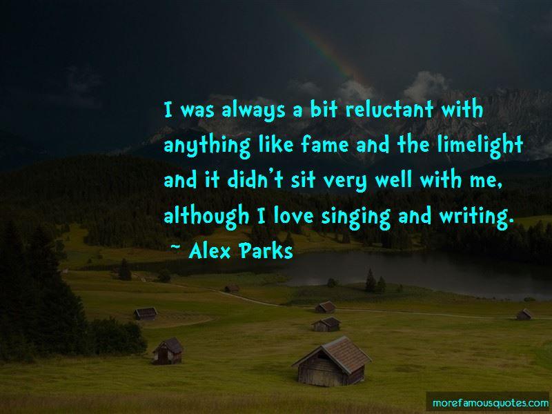 Alex Parks Quotes Pictures 2