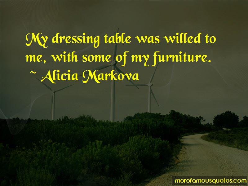 Alicia Markova Quotes