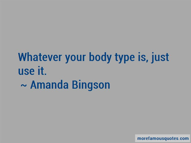 Amanda Bingson Quotes Pictures 2