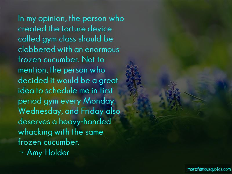 Amy Holder Quotes Pictures 4