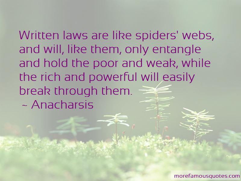 Anacharsis Quotes