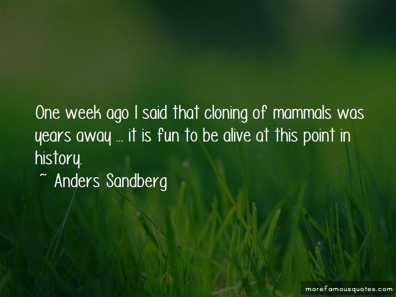 Anders Sandberg Quotes