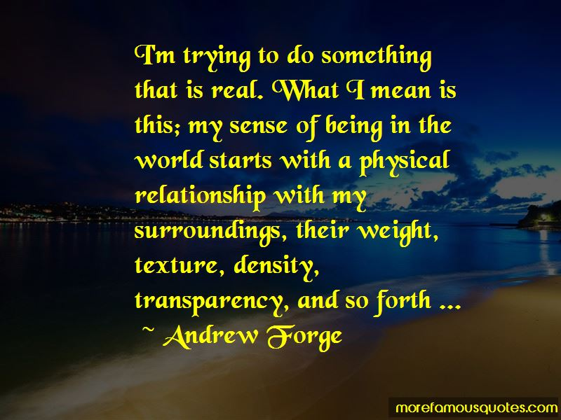 Andrew Forge Quotes Pictures 2