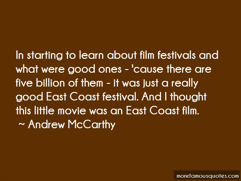 Andrew McCarthy Quotes Pictures 4