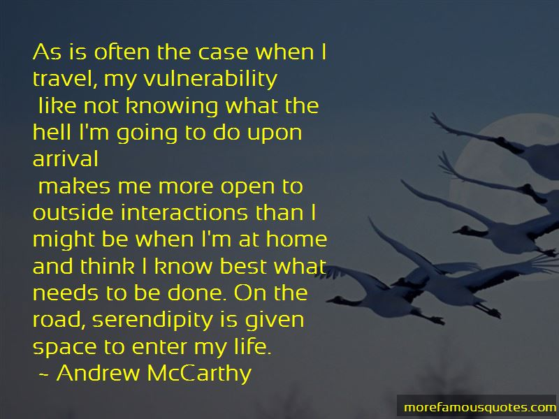 Andrew McCarthy Quotes