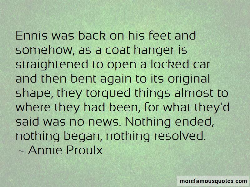 Annie Proulx Quotes