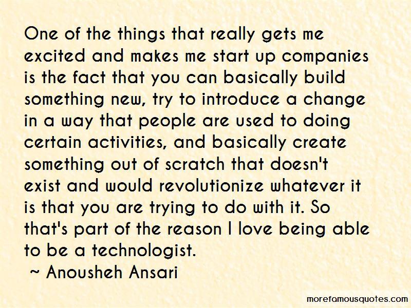 Anousheh Ansari Quotes